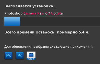 Adobe Camera Raw 6.3 update