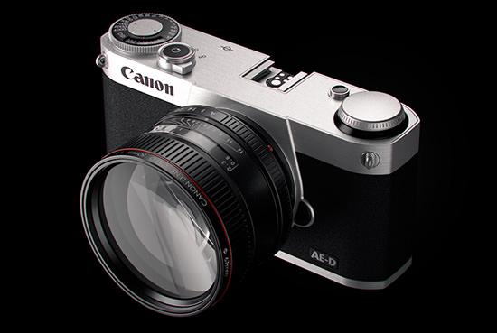 Canon готовит беззеркальную камеру