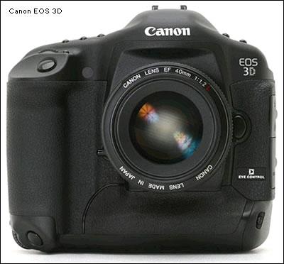 Canon EOS 3D-X будет анонсирована в октябре?