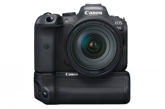 Canon EOS R6: рукоятка